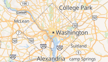Carte en ligne de Washington