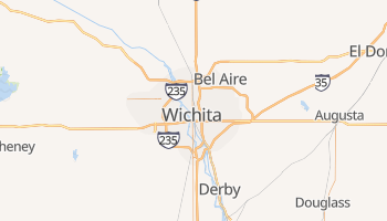 Carte en ligne de Wichita