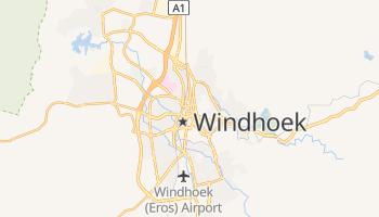 Carte en ligne de Windhoek