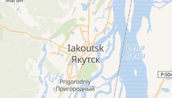 Carte en ligne de Iakoutsk