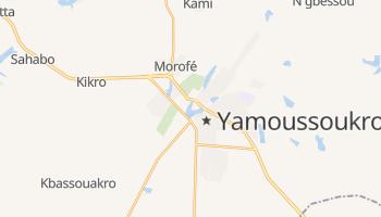 Carte en ligne de Yamoussoukro