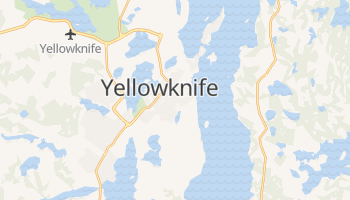 Carte en ligne de Yellowknife
