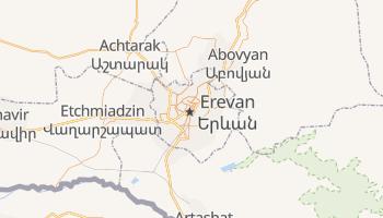 Carte en ligne de Erevan
