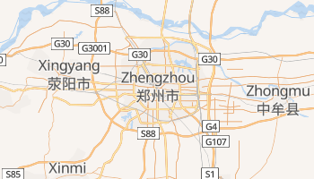 Carte en ligne de Zhengzhou