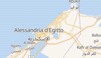 Mappa online di Alessandria d'Egitto
