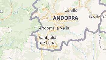 Mappa online di Andorra la Vella