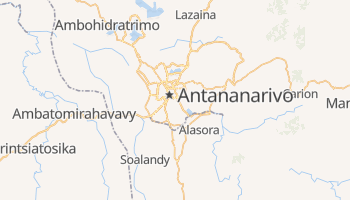 Mappa online di Antananarivo