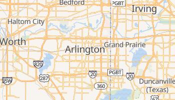 Mappa online di Arlington