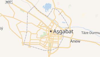 Mappa online di Ashgabat