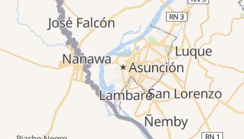 Mappa online di Asunción