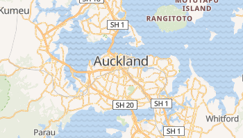 Mappa online di Auckland