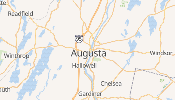 Mappa online di Augusta