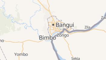 Mappa online di Bangui