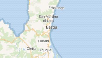 Mappa online di Bastia