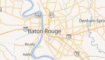 Mappa online di Baton Rouge