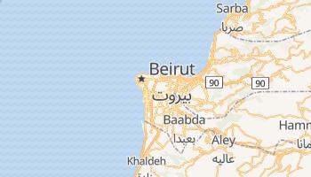 Mappa online di Beirut