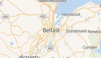 Mappa online di Belfast