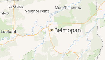 Mappa online di Belmopan