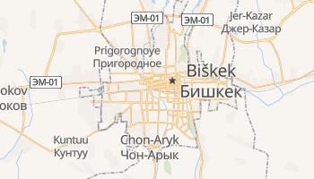 Mappa online di Bishkek