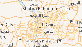Mappa online di Il Cairo