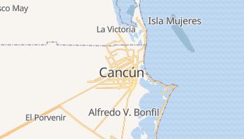 Mappa online di Cancún