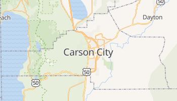 Mappa online di Carson City