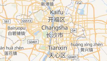 Mappa online di Changsha