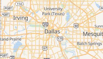 Mappa online di Dallas