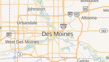 Mappa online di Des Moines