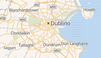 Mappa online di Dublino