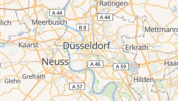 Mappa online di Düsseldorf
