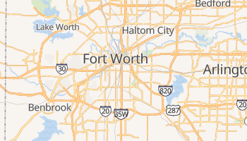 Mappa online di Fort Worth
