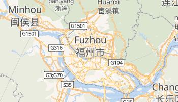 Mappa online di Fuzhou