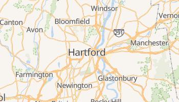 Mappa online di Hartford