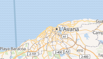 Mappa online di L'Avana
