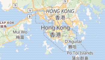 Mappa online di Hong Kong