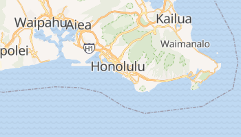 Mappa online di Honolulu