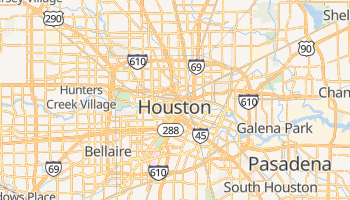 Mappa online di Houston