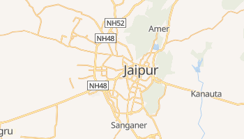 Mappa online di Jaipur