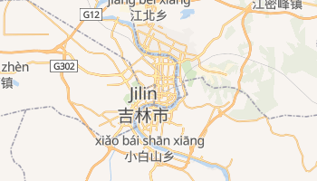 Mappa online di Jilin