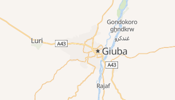 Mappa online di Giuba