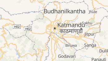 Mappa online di Kathmandu