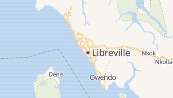 Mappa online di Libreville