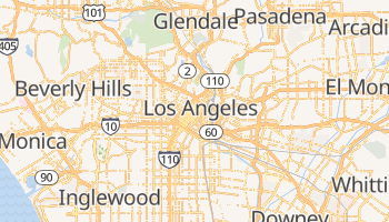 Mappa online di Los Angeles