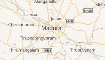 Mappa online di Madurai