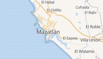 Mappa online di Mazatlán