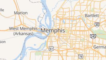 Mappa online di Memphis