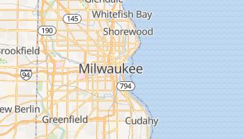Mappa online di Milwaukee