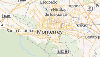 Mappa online di Monterrey