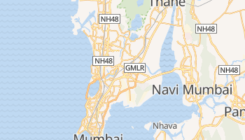 Mappa online di Mumbai